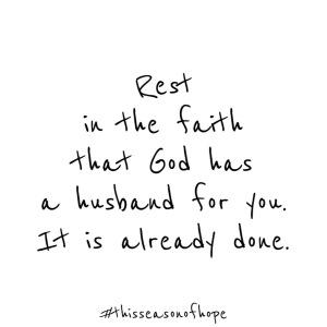 Rest in the Faith